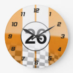 Vintage Racing Design Clock