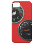 Vintage racing instruments: Classic car gauges iPhone 5 Cases