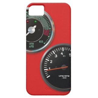 Vintage racing instruments: Classic car gauges iPhone 5 Cases