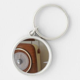 Vintage Radio Key Ring