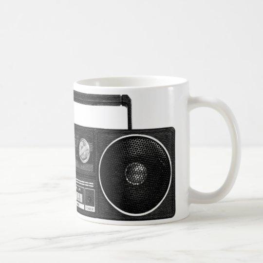 Vintage Radio Mug (black)