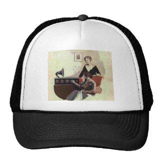 vintage radio paint 1900s hats