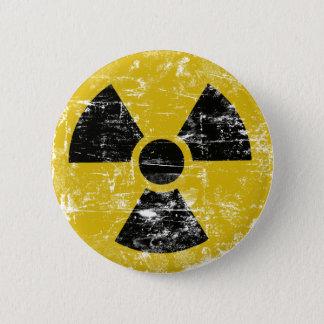 Vintage Radioactive 6 Cm Round Badge