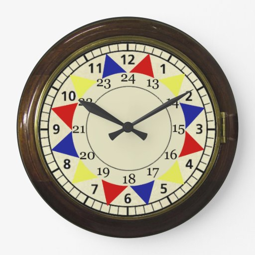 vintage raf clock