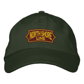 Vintage Railroad- North Shore Line Embroidered Cap