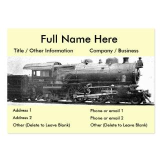 Vintage Railroad Photograph Bookmark Business Cards