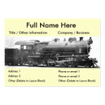 Vintage Railroad Photograph Bookmark Pack Of Chubby Business Cards