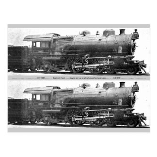 Vintage Railroad Photograph Bookmark Postcard