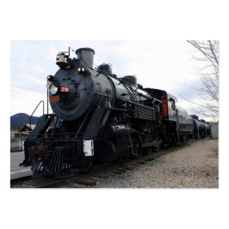 Vintage Railroad Steam Train Business Card Template
