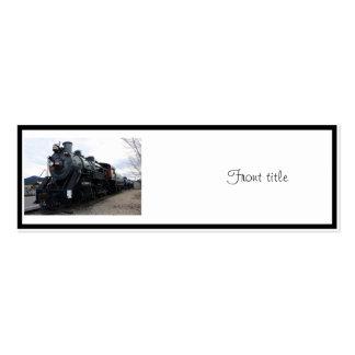 Vintage Railroad Steam Train Business Cards