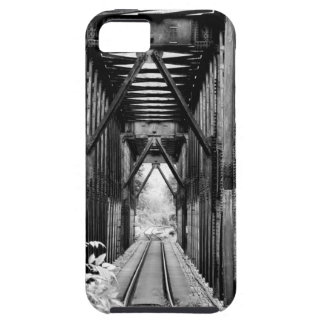 Vintage Railroad Track Bridge iPhone 5 Cases