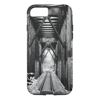 Vintage Railroad Track Bridge iPhone 7 Case