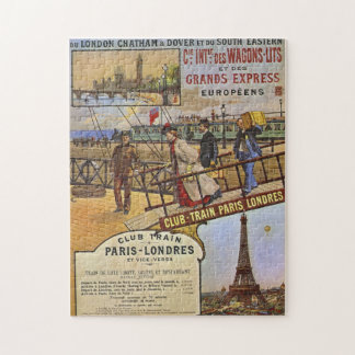 Vintage Railway Poster jigsaw puzzle
