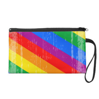 Vintage Rainbow Stripes.png Wristlets