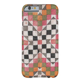 Vintage Ralli Quilt Orange Barely There iPhone 6 Case