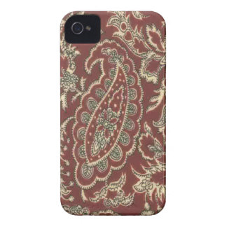 Vintage Ranch Paisley Case Blackberry Bold Case-Mate iPhone 4 Cases