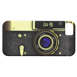 Vintage rangefinder camera iPhone 5 cases