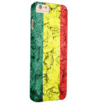 Vintage rasta flag barely there iPhone 6 plus case