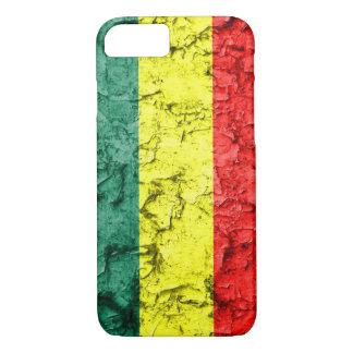 Vintage rasta flag iPhone 7 case