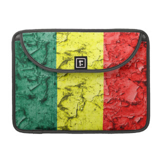 Vintage rasta flag sleeve for MacBooks
