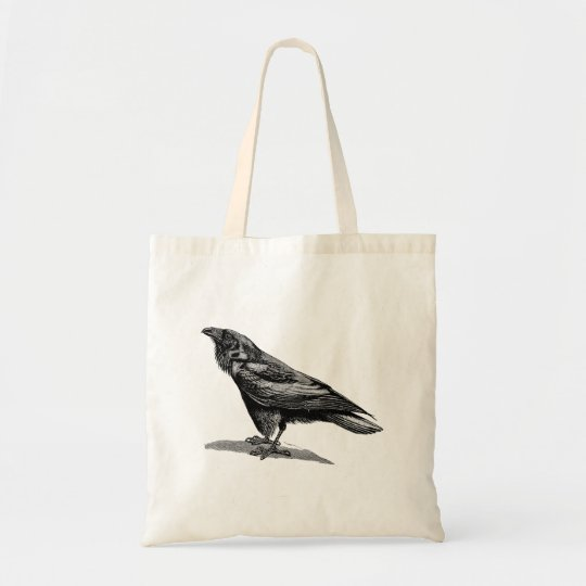 Vintage Raven Crow Blackbird Bird Illustration