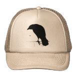 Vintage Raven - Customised Goth Crows Ravens Hat