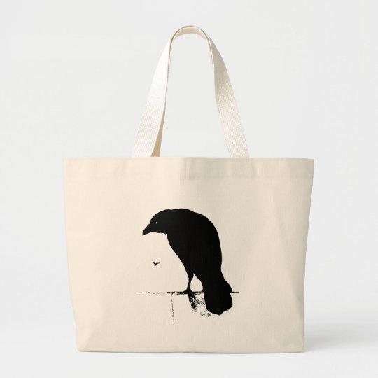 Vintage Raven - Customised Goth Crows Ravens Large