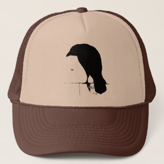 Vintage Raven - Customized Goth Crows Ravens Trucker Hat