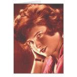 Vintage Ravishing Redhead Cards