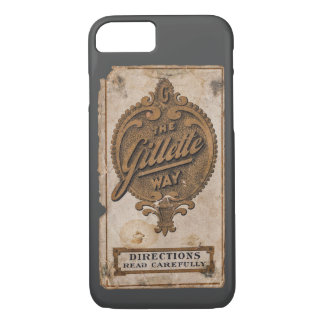 vintage razor ad iPhone 7 case