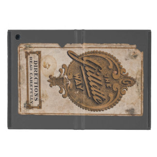 vintage razor adv iPad mini cases