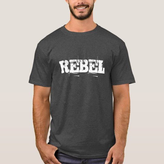 Vintage Rebel t shirt for men and boys