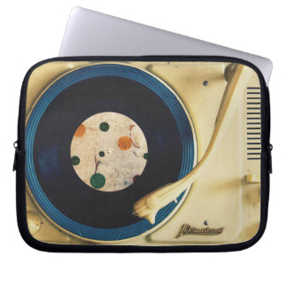 Vintage Record player Laptop Sleeves