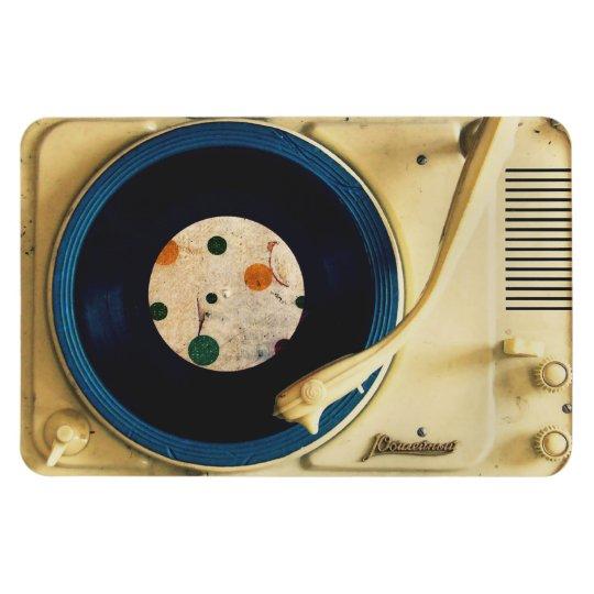 Vintage Record player Magnet