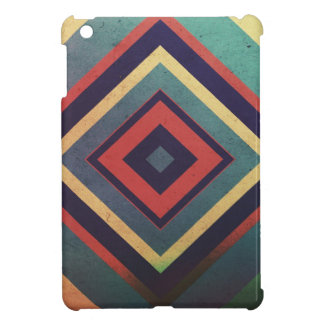 Vintage rectangular colorful cover for the iPad mini