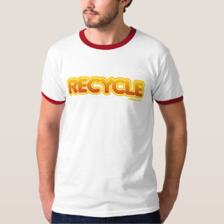 Vintage Recycle Ringer T-Shirt