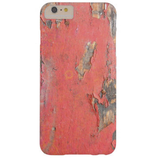 Vintage Red Barn Wood Barely There iPhone 6 Plus Case