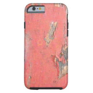 Vintage Red Barn Wood Tough iPhone 6 Case