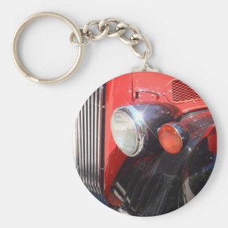 Vintage Red Bus Key Ring