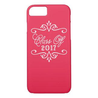 Vintage Red   Graduation iPhone 8/7 Case