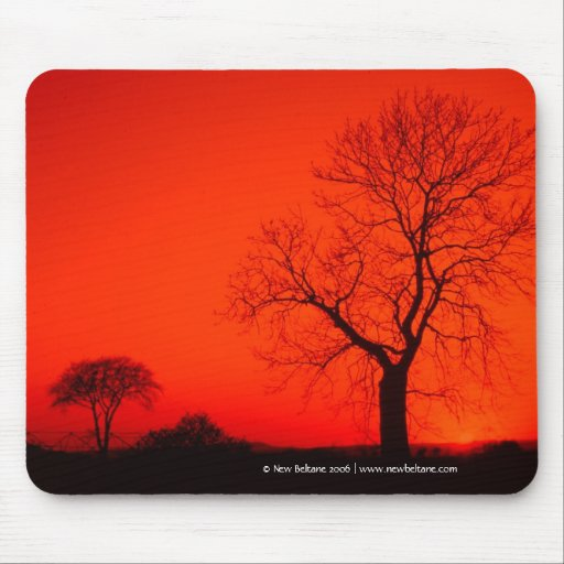 Vintage Red,  New Beltane 2006 Mouse Pad