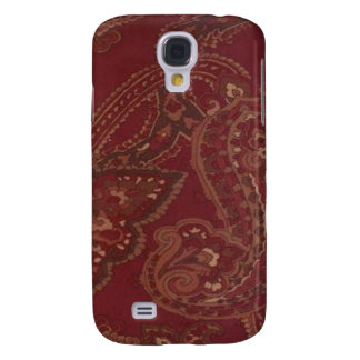 Vintage Red Paisley 3G/3GS Galaxy S4 Case
