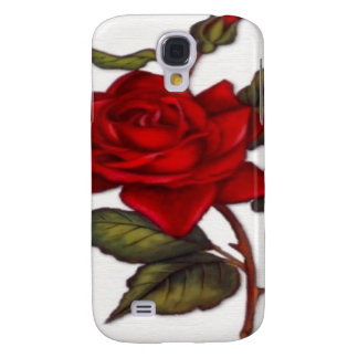 Vintage Red Rose HTC Vivid Cover