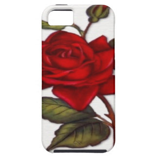 Vintage Red Rose iPhone 5 Cases