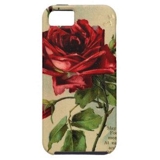 Vintage Red Rose Phone Case