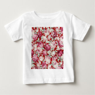 vintage red roses,victorian,floral,romantic,girly, shirt