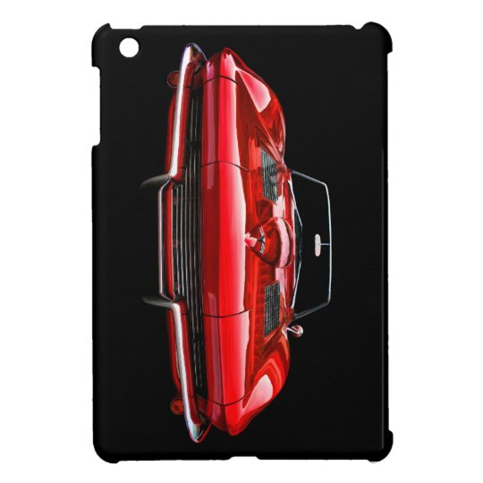 Vintage Red Vette iPad Mini Cover
