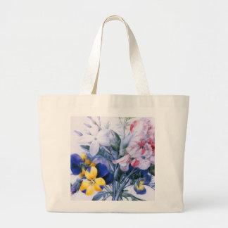 Vintage Redoute Flower Bouquet Bag