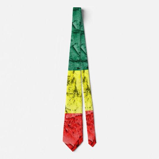Vintage reggae flag tie
