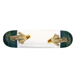 Vintage Religion, Jesus Christ in Robe Portrait Custom Skateboard